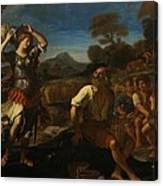 Erminia And The Shepherds Canvas Print