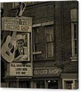 Ernest Tubb Record Shop Canvas Print