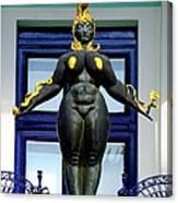 Ernst Fuchs Museum Nude Statue Canvas Print