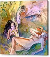 Eroscape 1201 Canvas Print