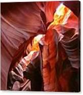 Erosions At Antelope Canyon Canvas Print