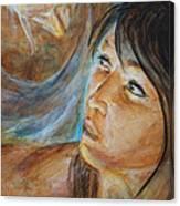 Erotic Expression Canvas Print