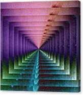 Erratic Portal Canvas Print