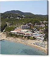 Es Figueral Beach And The Invisa Hotels Canvas Print
