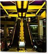 Escalator Lights Canvas Print