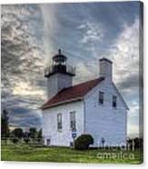 Escanaba Lighthouse Canvas Print