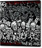 Escape Prison City  Canvas Print