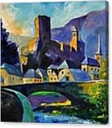 Esch Sur Sure Canvas Print