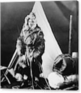 Eskimo Woman Canvas Print