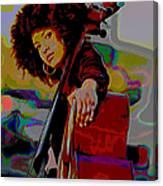 Esperanza Spalding Canvas Print
