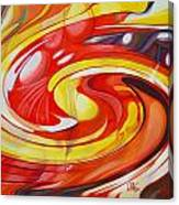 Espiral De Colores Canvas Print