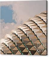 Esplanade Theatres Roof 01 Canvas Print