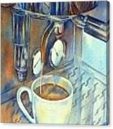 Espresso Machine 3 Canvas Print
