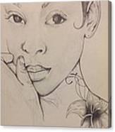 Essence Of A Woman Canvas Print