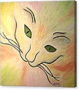 Essence Of Cat Canvas Print