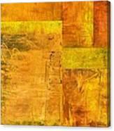 Essence Of Yellow Canvas Print