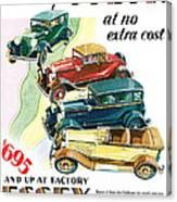 Essex Challenger Vintage Poster Canvas Print