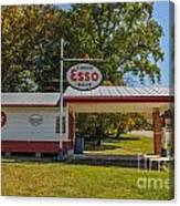 Esso Dealer Canvas Print