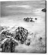 Estacas Beach Galicia Spain Canvas Print