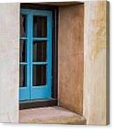 Estate Window Canvas Print