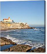 Estoril Coastline In Portugal Canvas Print