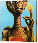 E.t. The Extra Terrestrial  Canvas Print