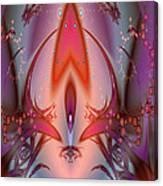 Eternal Flame Fractal Canvas Print