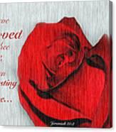 Eternal Valentine Canvas Print