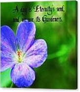 Eternity's Seed Canvas Print