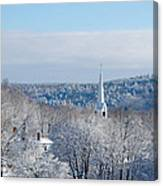 Ethereal Steeple Canvas Print