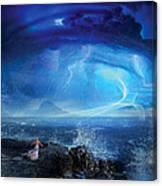 Etherstorm Canvas Print
