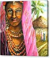 Ethiopia Bride Canvas Print