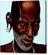 Ethiopian Elder 2 Canvas Print