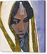 Ethiopian Woman Canvas Print