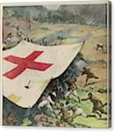 Ethiopians Conceal Men And  Munitions Canvas Print
