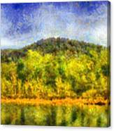 Etowah Reflections Canvas Print