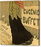 Eugenie Buffet Poster Canvas Print