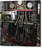 Eureka Ferry Steam Engine Controls - San Francisco Canvas Print