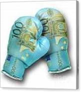 Euro Gloves-2 Canvas Print