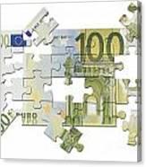 Euro Puzzle Canvas Print