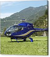 Eurocopter Ec130 Light Utility Canvas Print
