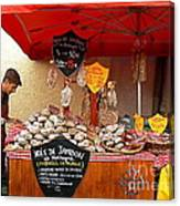 A European Butcher Canvas Print