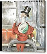 Eustace Spreads Canvas Print