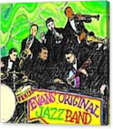 Evans Original Jazz Band Canvas Print