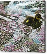 Even The Smallest Leave Ripples In Their Wake Canvas Print