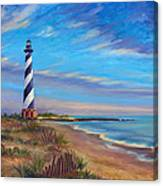 Evening at Cape Hatteras Canvas Print