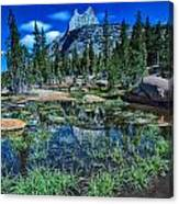 Evening At Cathedral Lakes Canvas Print
