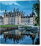 Evening At Chateau Chambord Canvas Print