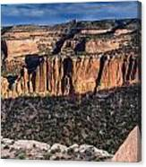 Evening At Colorado National Monument Canvas Print