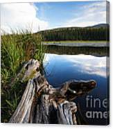 Evening At Red Rock Lake Canvas Print